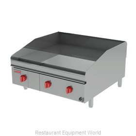 Lang Manufacturing 248ZTDC Griddle, Gas, Countertop