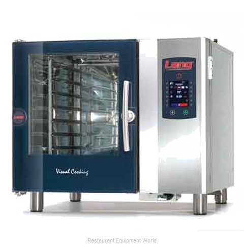 Lang Manufacturing CPE1.06 GAS Combi Oven Gas Half Size