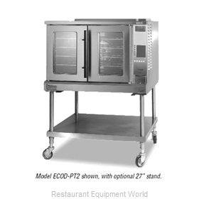 Lang Manufacturing ECOD-PT2 Convection Oven, Elec., 2-deck, Xtra deep