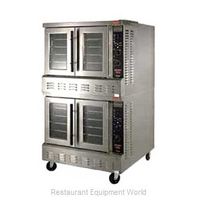 Lang Manufacturing ECOD-S2 Convection Oven, Elec., Extra deep, 1-Deck,
