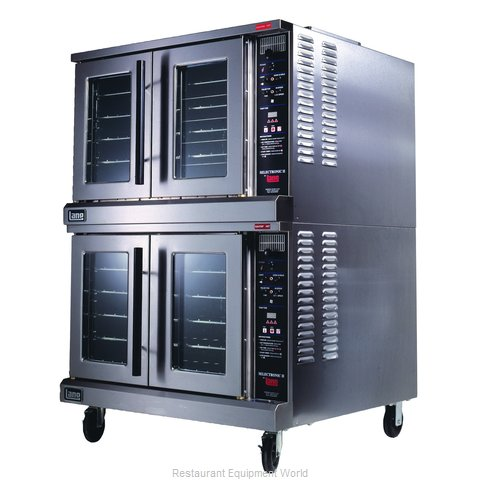 Lang Manufacturing ECOF-AP2 Convection Oven, Elec., 2-deck