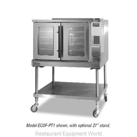 Lang Manufacturing ECOF-PT1 Convection Oven, Elec., 1-Deck