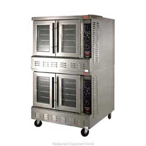Lang Manufacturing ECOF-PT2 Convection Oven, Elec., 2-deck,