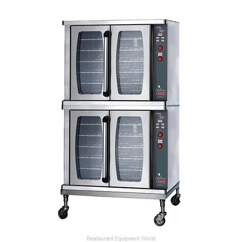 Lang Manufacturing ECSF-ES2 Convection Oven, Elec, 2-deck,