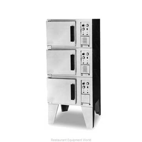 Lang Manufacturing FCOF-AT3 Convection Oven, Elec., 3-deck, compact