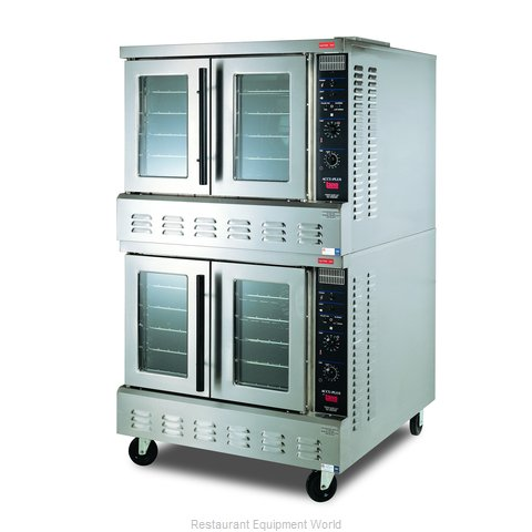 Lang Manufacturing GCOD-AP2 Convection Oven, Gas, 2-deck, Xtra deep