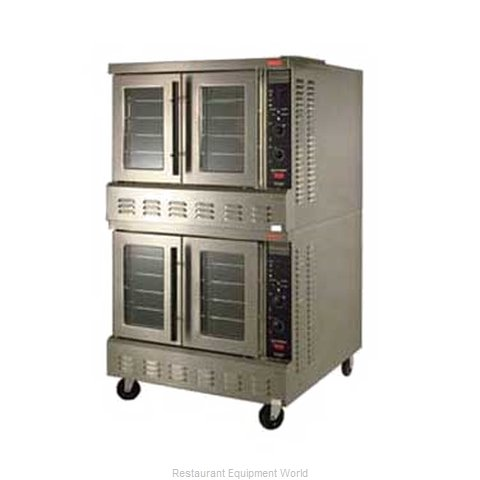 Lang Manufacturing GCOD-PT2 Convection Oven, Gas, 2-deck, Xtra deep, P
