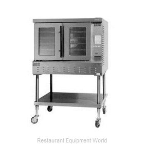 Lang Manufacturing GCOF-PT1 Convection Oven, Gas, 1-Deck, Platinum