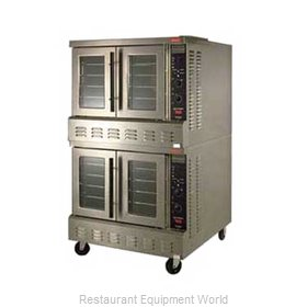 Lang Manufacturing GCOF-PT2 Convection Oven, Gas, 2-deck, Platinum