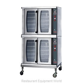 Lang Manufacturing GCSF-ES2 Convection Oven, Gas, 2-deck,