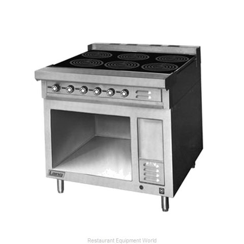 Lang Manufacturing RI36B-ATE Induction Range Floor Model (Magnified)