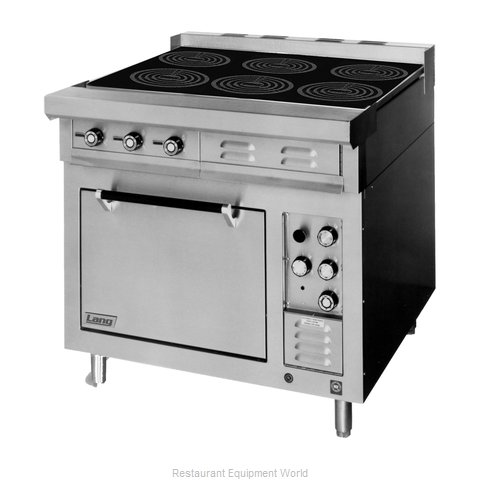 Lang Manufacturing RI36S-ATE Induction Range Floor Model