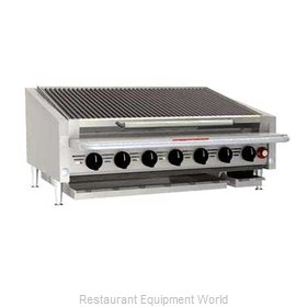 MagiKitch'N APL-RMB-648CR Charbroiler Gas Counter Model