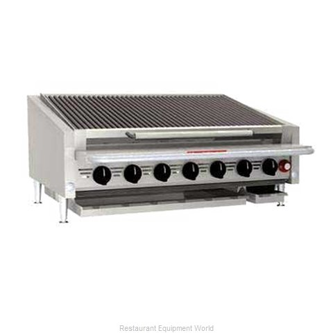 MagiKitch'N APL-RMB-672CR Charbroiler Gas Counter Model