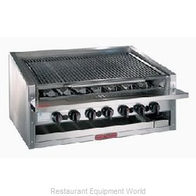 MagiKitch'N APM-RMB-624 13 High Counter Model Radiant Style Charbroiler