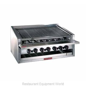 MagiKitch'N APM-RMB-624CR Charbroiler Gas Counter Model