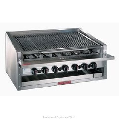 MagiKitch'N APM-RMB-648 13 High Counter Model Radiant Style Charbroiler