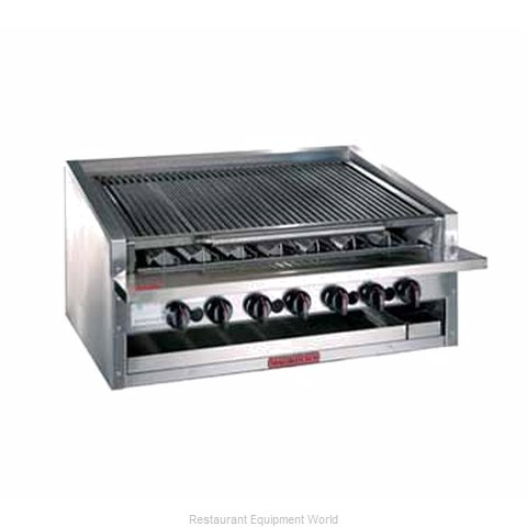 MagiKitch'N APM-RMB-648CR Charbroiler Gas Counter Model