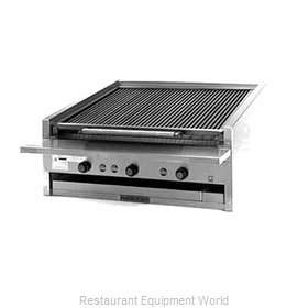 MagiKitch'N APM-SMB-648 Charbroiler, Gas, Countertop