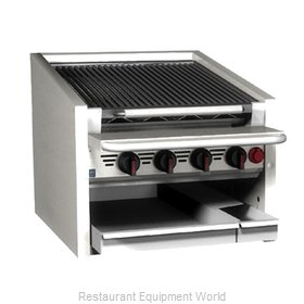MagiKitch'N CM-RMB-624CR Charbroiler Gas Counter Model
