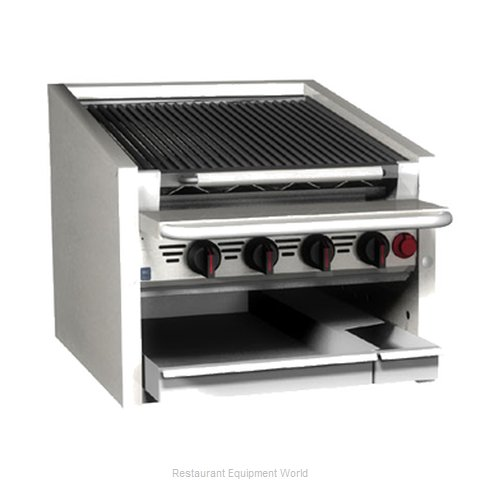 MagiKitch'N CM-RMB-672CR Charbroiler Gas Counter Model