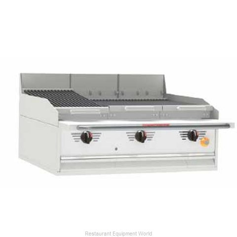 MagiKitch'N FC-48 Charbroiler Gas Counter Model