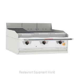 MagiKitch'N FC-72 Charbroiler Gas Counter Model