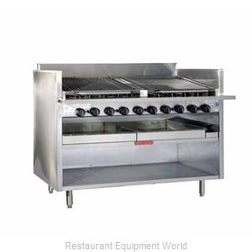 MagiKitch'N FM-RMB-660CR Charbroiler, Gas, Floor Model