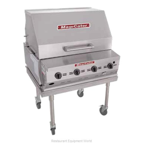 MagiKitch'N LPAGA-30-SS Charbroiler Gas Outdoor Grill