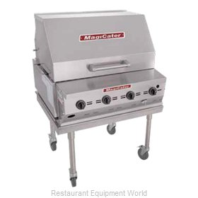MagiKitch'N LPAGA-30-SS Charbroiler, Gas, Outdoor Grill