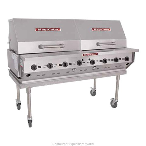 MagiKitch'N LPAGA-60-SS Charbroiler Gas Outdoor Grill