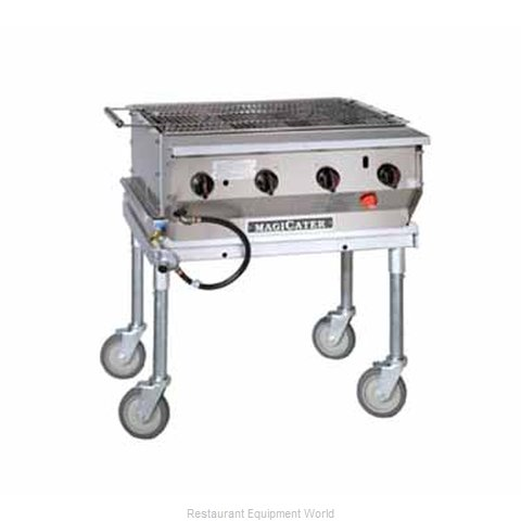 MagiKitch'N LPG-30-SS Charbroiler Gas Outdoor Grill