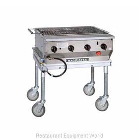 MagiKitch'N LPG-30-SS Charbroiler, Gas, Outdoor Grill