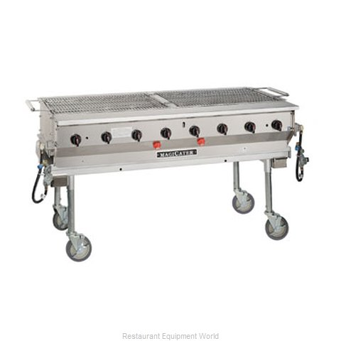 MagiKitch'N LPG-60 Charbroiler Gas Outdoor Grill