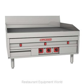 MagiKitch'N MKE-48-ST Griddle Counter Unit Electric
