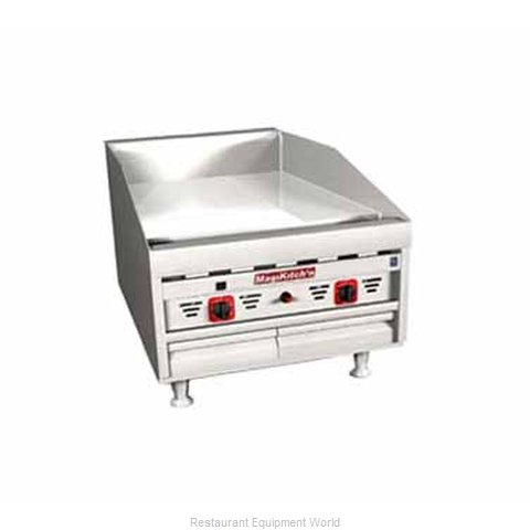 MagiKitch'N Fryers MKG-24-E Gas Griddle