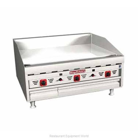 MagiKitch'N MKG-36-ST Griddle Counter Unit Gas
