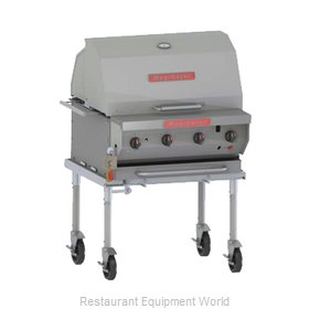 MagiKitch'N NPG-30-SS Charbroiler, Gas, Outdoor Grill