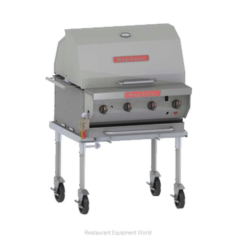 MagiKitch'N NPG-30 Charbroiler, Gas, Outdoor Grill