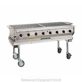 MagiKitch'N NPG-60-SS Charbroiler, Gas, Outdoor Grill