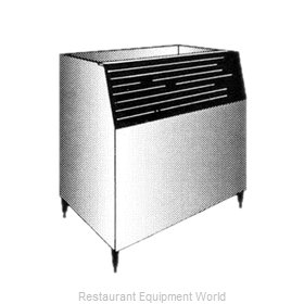 Manitowoc C-730S C-Style Ice Bin For Q-Model Ice Machine Holds 560Lb O