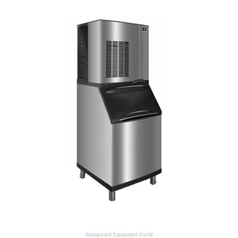 Manitowoc RN-1408A Ice Maker Nugget Compressed