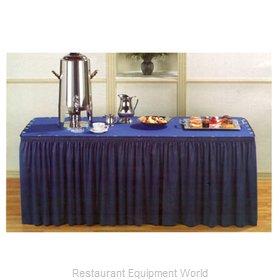 Marko by Carlisle 5024-30X30-FFTS Table Skirt