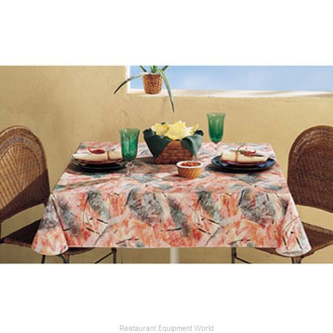 Marko by Carlisle 7700-52X52 Tablecloth Vinyl (Magnified)