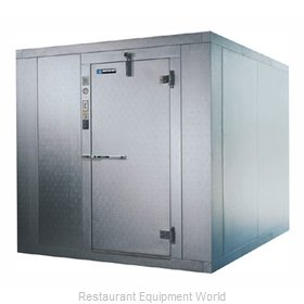 Master-Bilt 821020-GX Walk-In Cooler w Glass Front