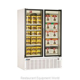 Master-Bilt BLG-52HD Low Temp Glass Door Merchandiser