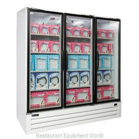 Master-Bilt BLG-74-HGPR Freezer, Merchandiser