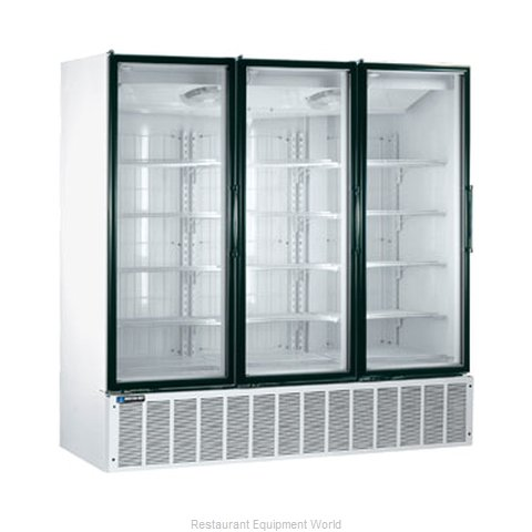 Master-Bilt BLG-74HD Low Temp Glass Door Merchandiser
