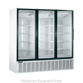 Master-Bilt BLG-80HD Low Temp Glass Door Merchandiser
