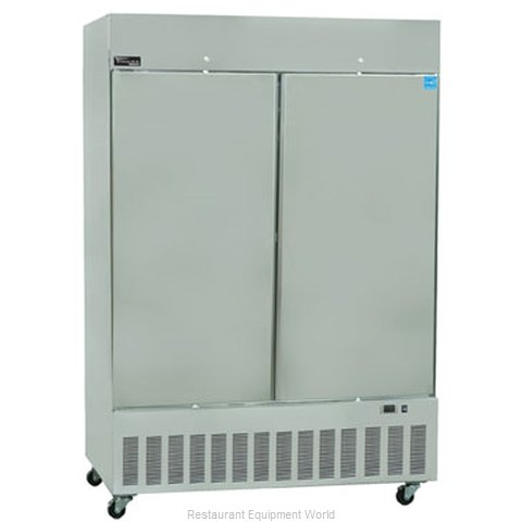 Master-Bilt BSD-52DFA Reach-In Freezer 2 sections
